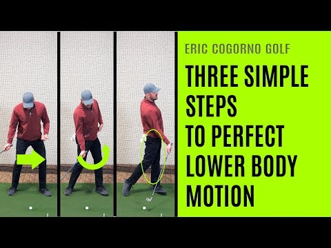 GOLF: Three Simple Steps To Perfect Lower Body Motion – Plus An Early Extension Fix