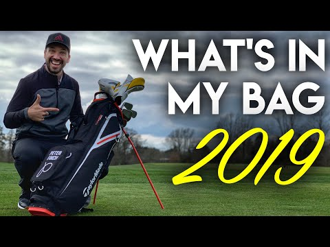Peter Finch What's In My Bag – 2019