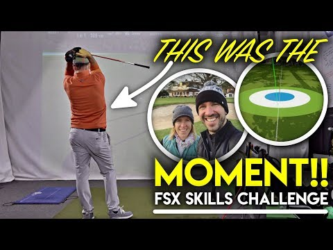 THIS was the MOMENT! FSX Skills Challenge + Sunningdale Foresomes with the Tour Pros!