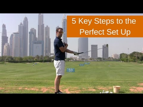 HOW TO ADDRESS THE BALL – 5 Key Check Points