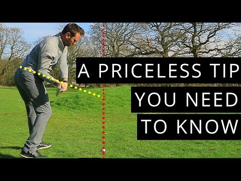 A PRICELESS TIP FOR YOUR GOLF SWING
