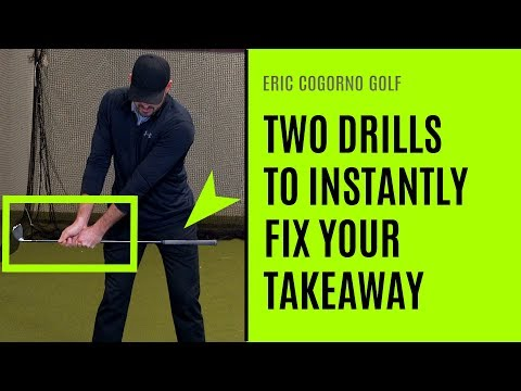 GOLF: Two Drills To Instantly Fix Your Golf Swing Takeaway