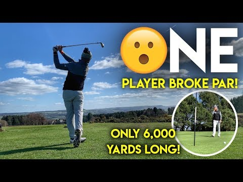 One Player Broke Par…The course is only 6,000 yard long! Crosland Heath Comp Review
