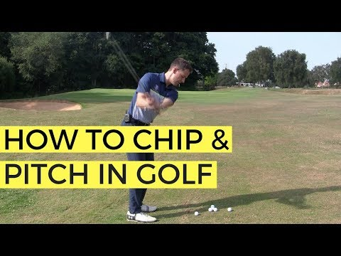 HOW TO CHIP AND PITCH IN GOLF – THE 50 YARD PITCH SHOT
