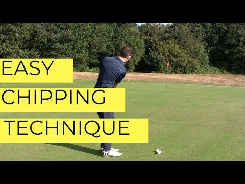 AMAZING CHIPPING TECHNIQUE – SIMPLIFY YOUR CHIP SHOTS
