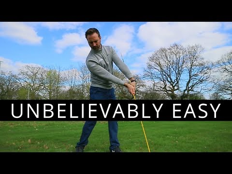 THE UNBELIEVABLY EASY DRILL TO IMPROVE YOUR GOLF SWING