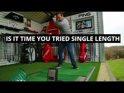 DO SINGLE LENGTH GOLF CLUBS SUIT YOUR GOLF SWING?