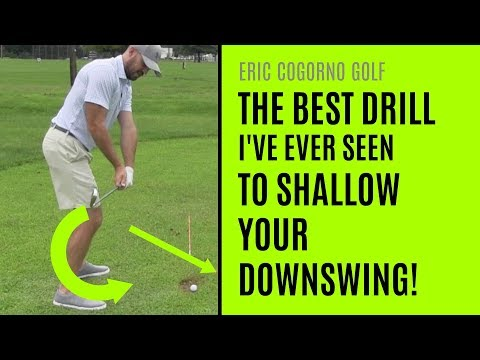GOLF: The Best Drill I've Ever Seen To Shallow Your Downswing