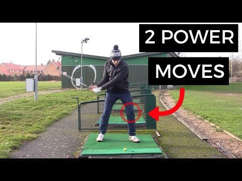 TWO POWER MOVES FOR YOUR GOLF SWING