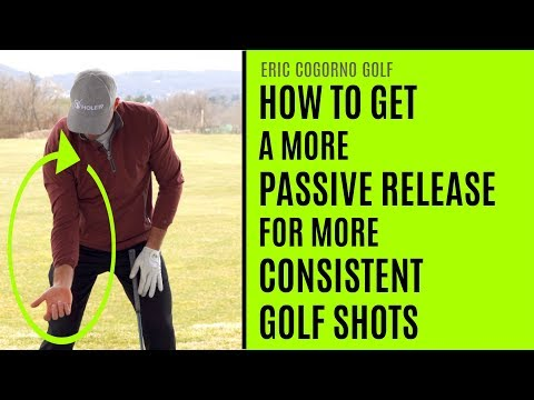 GOLF: How To Get A More Passive Release For More Consistent Golf Shots