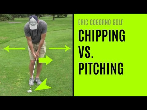 GOLF: Chipping Vs. Pitching