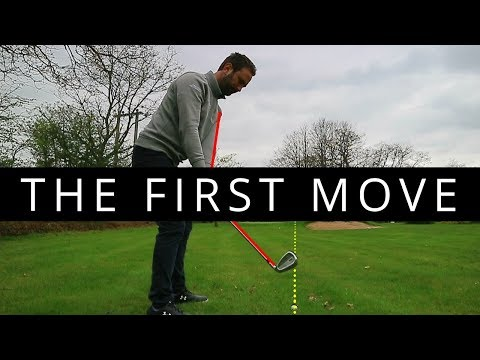 THE FIRST MOVE IN THE GOLF SWING