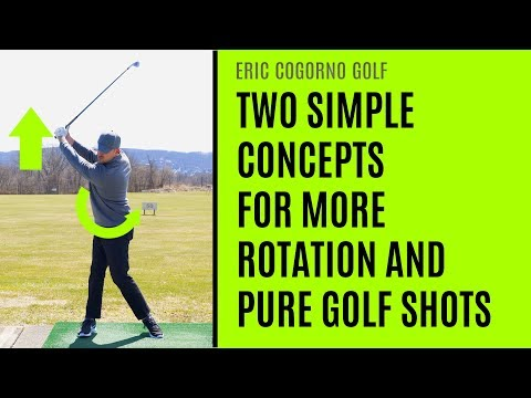 GOLF: Two Simple Concepts For More Rotation And Pure Golf Shots