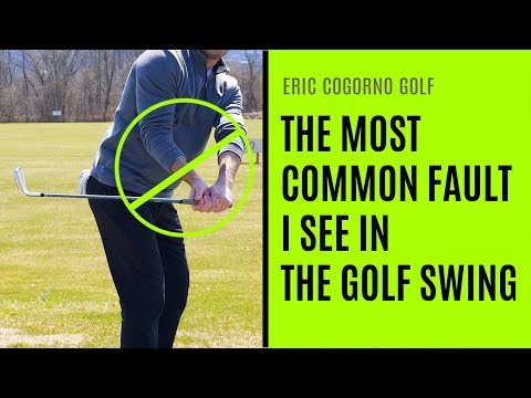 GOLF: The Most Common Fault I See In The Golf Swing   – Use Your Forearm Rotation Wisely