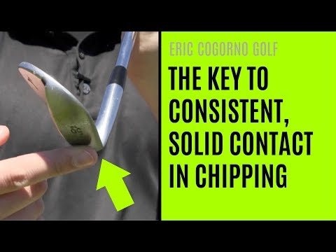 GOLF: The Key To Consistent, Solid Contact In Chipping