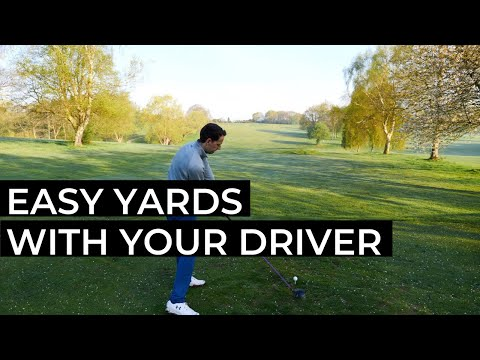 2 GOLF DRIVER TIPS – FOR AN EASY GOLF DRIVER SWING