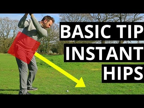 THIS BASIC TIP WILL IMPROVE YOUR GOLF SWING