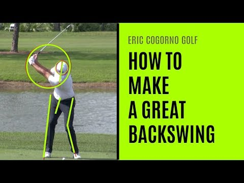 GOLF: How To Make A Great Backswing