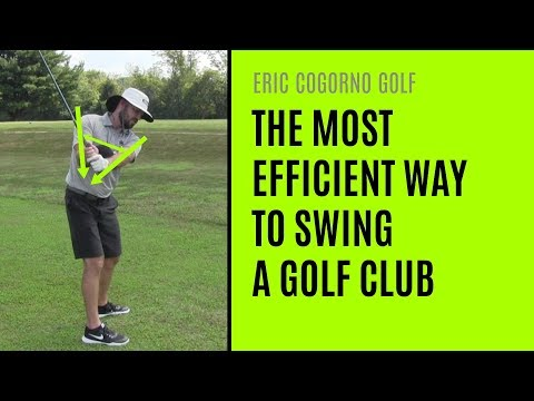 GOLF: The Most Efficient Way To Swing A Golf Club