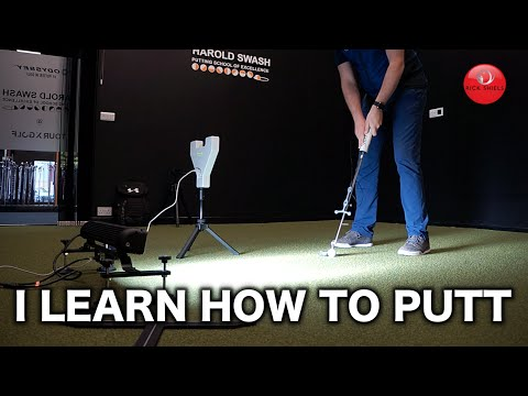 Rick Shiels learns how to putt!