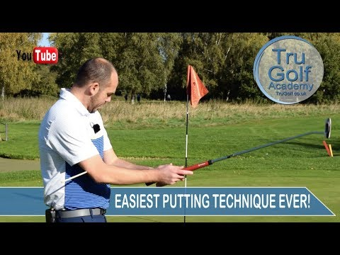 EASIEST PUTTING TECHNIQUE EVER!