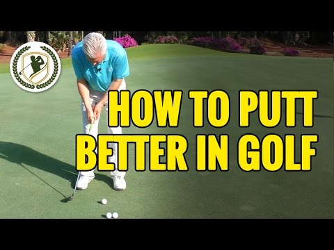 How To Putt Better In Golf  – Distance Control