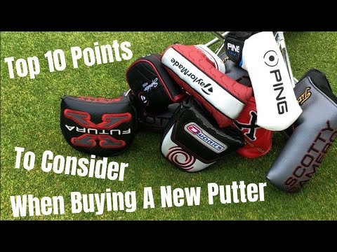 Top 10 Points To Consider When Buying A New Putter