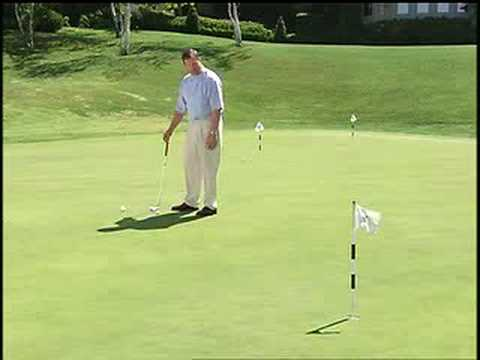 Putting tip: Downhill putting