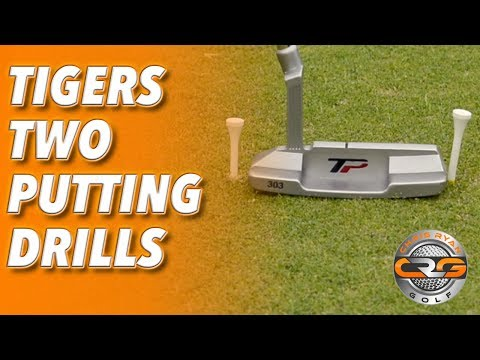TIGERS TWO PUTTING DRILLS
