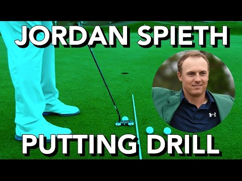 USE JORDAN SPIETH'S PUTTING DRILL TO HOLE MORE PUTTS