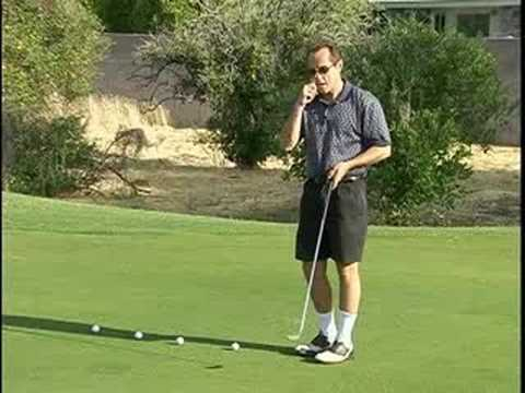 Golf Putting Instruction : Uphill Putts