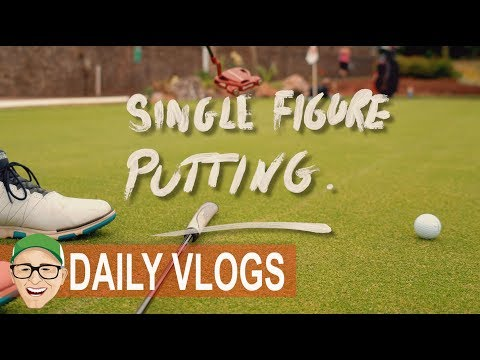 SINGLE FIGURE PUTTING LESSON
