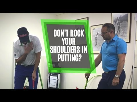 Don't Rock Your Shoulders in Putting? Simple Lesson to Hole More Putts