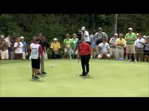 Jack Nicklaus – Unbelievable 102 Foot Putt ! video