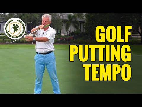 2 TIPS THAT WILL HELP YOUR GOLF PUTTING TEMPO