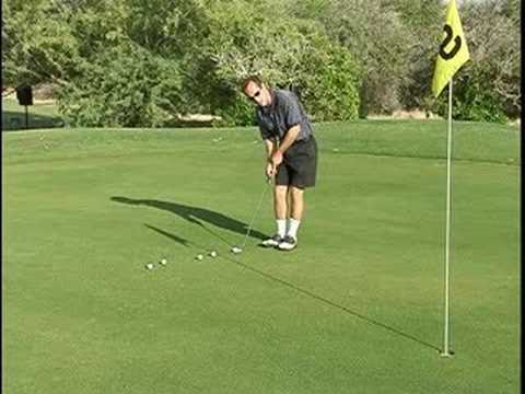 Golf Putting Instruction : Downhill Putts