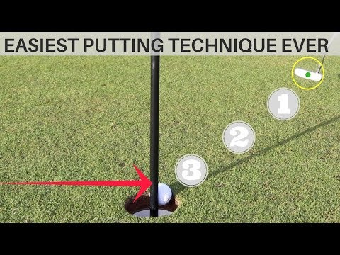 EASIEST PUTTING TECHNIQUE EVER