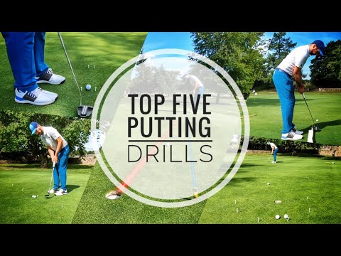 TOP FIVE GOLF PUTTING DRILLS