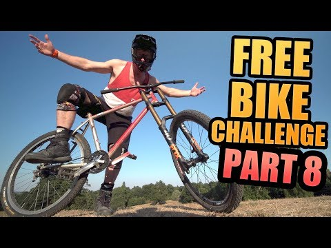 THE FREE BIKE CHALLENGE – PART 8 – DOWNHILL FORKS