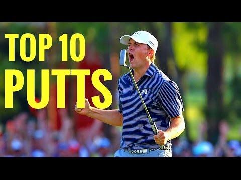 Top 10 Best Putts 2016 PGA Tour Season