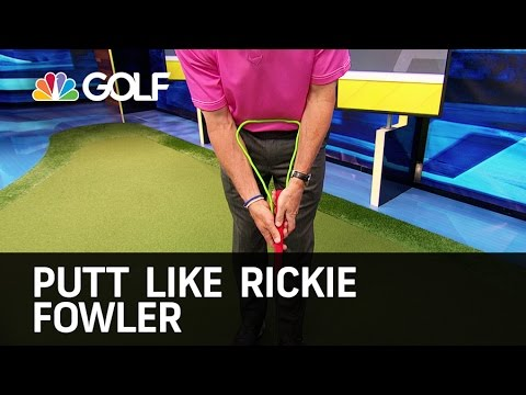 Putt Like Rickie Fowler – The Golf Fix | Golf Channel