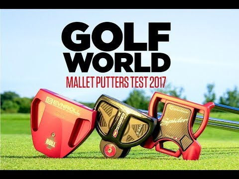 Mallet putters test – TaylorMade, Odyssey, Evnroll