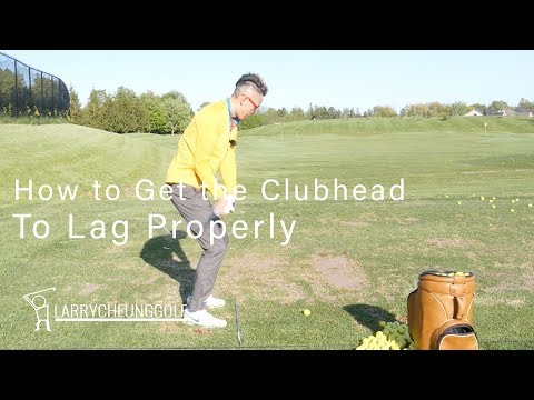How to Get the Club head Lagging Properly in the Downswing