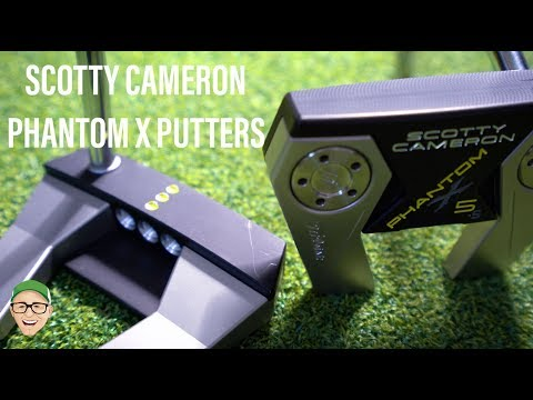 SCOTTY CAMERON PHANTOM X PUTTERS