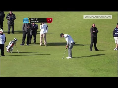 159ft (53 yards) – monster putt by Michael Phelps