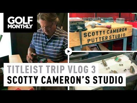 Titleist USA Trip Vlog 3 – Inside Scotty Cameron's Putter Studio