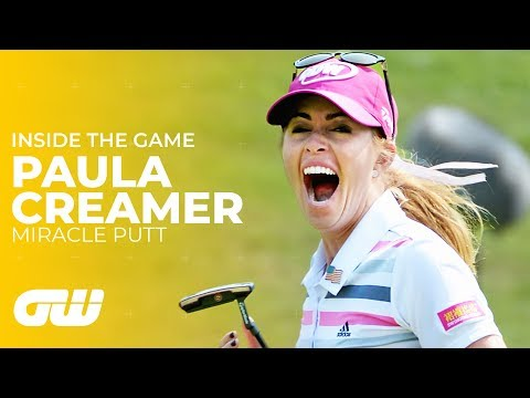 Paula Creamer's MIRACLE PUTT at the HSBC Women's Champions 2014 | Golfing World