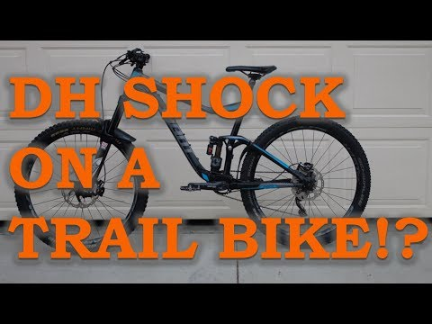 I put a downhill shock on a trail bike… – Fox Float X2 Review