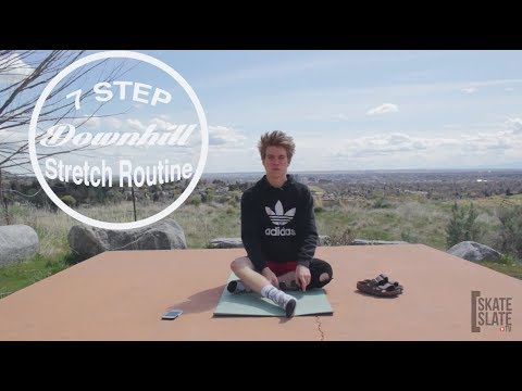 Parker Schmidt's 7 Step Downhill Stretch Routine – Skate[Slate].TV