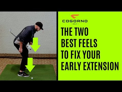 GOLF: The Two Best Feels To Fix Your Early Extension